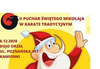 II Puchar Św. Mikołaja w Karate Tradycyjnym