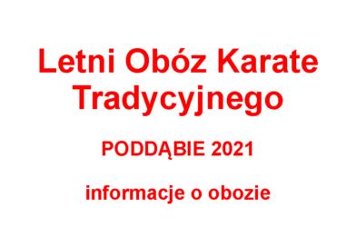 <strong>Letni Obóz Karate Tradycyjnego</strong>