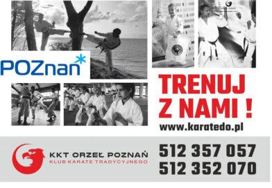 Treningi w KKT Orzeł są współfinansowane z Urzędu Miasta Poznań